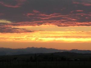 Sunset of joy.
